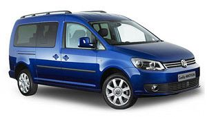 Volkswagen Caddy Maxi Automatic Diesel